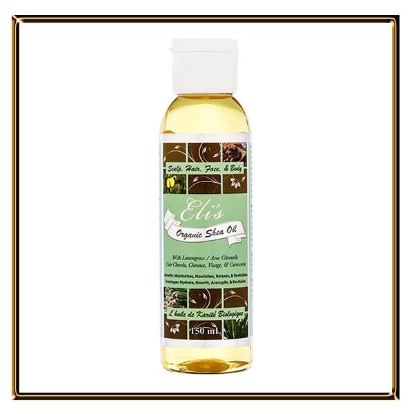 shea oil lemongrass